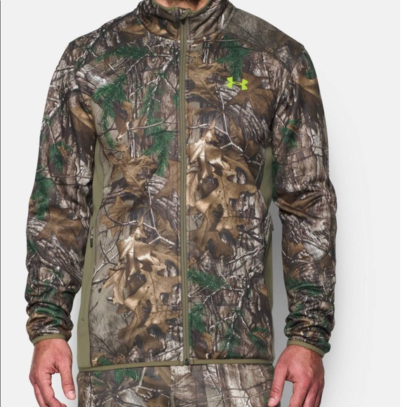 67e8ff2d0f9454 Under Armour Jackets & Coats   Hunting Jacket Scent Control Realtree ...